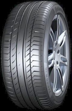 225/40 R18 92W TL XL FR ContiSportContact 5 SSR MO Extended CONTINENTAL