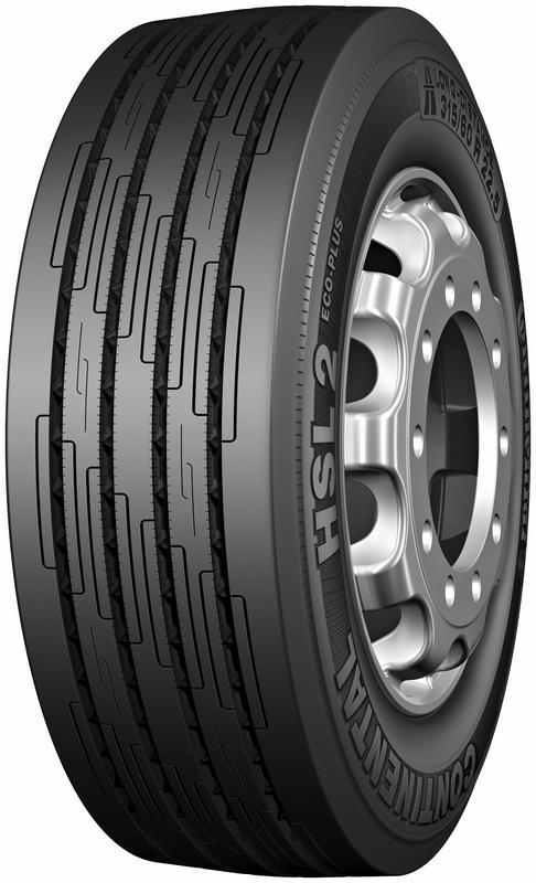 315/70 R22,5 154/150L (152/148M) TL HSL2+ ECO-PLUS EU CONTINENTAL